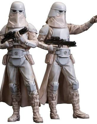 Star Wars ARTFX+ Szobor - 2-Pack Snowtrooper (18cm)