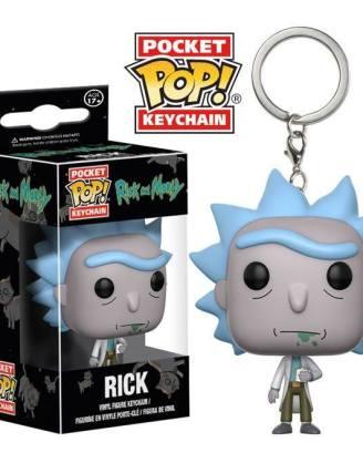 Rick and Morty Funko Pocket POP! kulcstartó - Rick