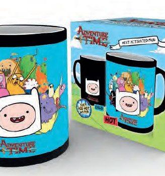 Adventure Time hőre változós bögre