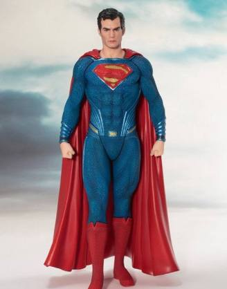 Justice League Movie ARTFX+ Szobor - 1/10 Superman (19cm)