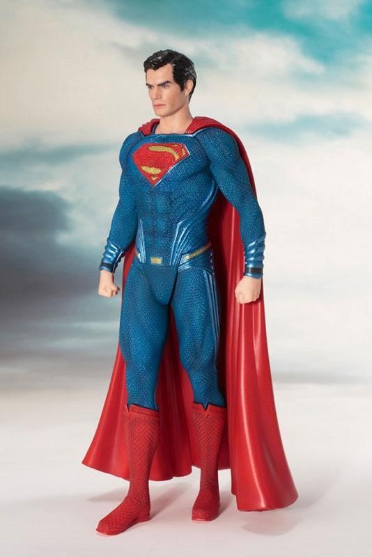 Justice League Movie ARTFX+ Szobor - 1/10 Superman (19cm)