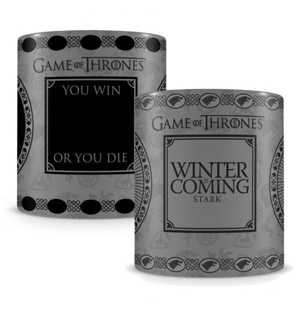 x_scmg24714 Game of Thrones Heat Change Mug Stark