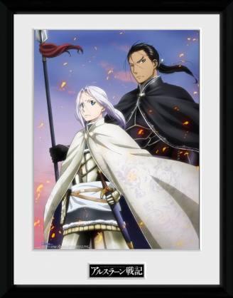 x_gye-pfc2067 Heroic Legend of Arslan Framed Poster Embers 45 x 34 cm