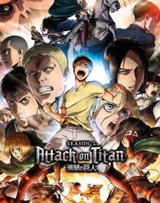 x_gye-fp4530 Attack on Titan Season 2 Poster Pack Collage Key Art
