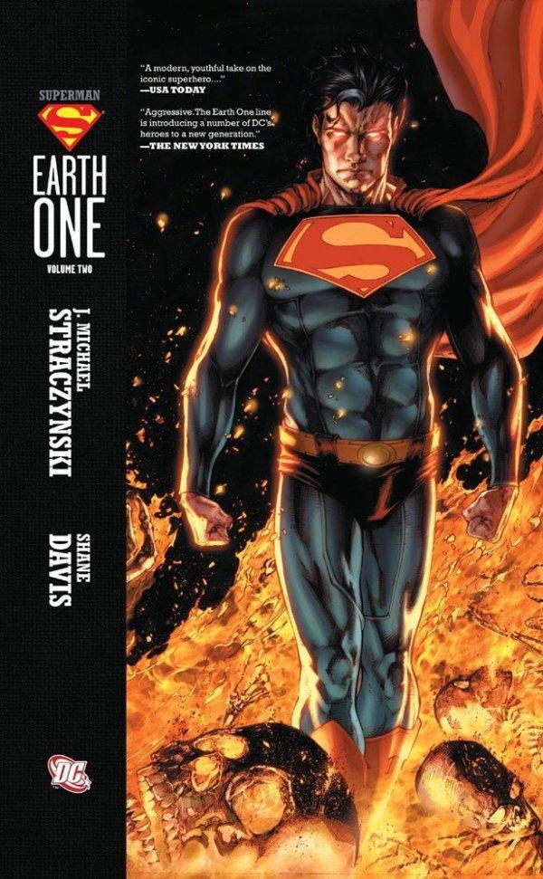 x_dcjun120225 DC Comics Comic Book Superman Earth One Vol. 02 by J. Michael Straczynski english