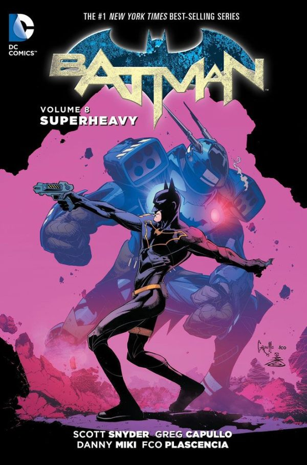 x_dcnov150271 DC Comics Comic Book Batman Vol. 8 Superheavy by Scott Snyder english