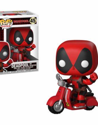x_fk30969 Deadpool POP! Rides Vinyl Figure Deadpool & Scooter 9 cm