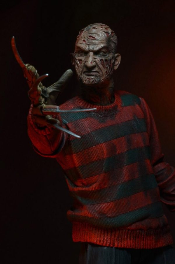 xneca39759 Nightmare on Elm Street Action Figure 30th Anniversary Ultimate Freddy Krueger 18 cm