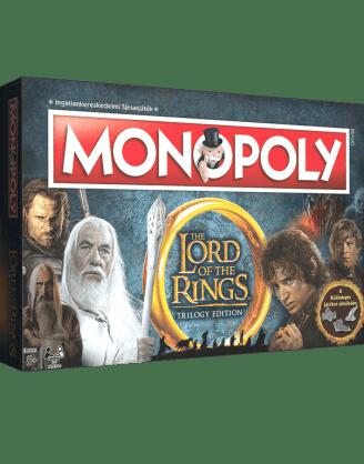 Gyűrűk Ura Monopoly (magyar nyelvű kiadás)