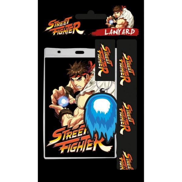 Street Fighter - Ryu nyakbaakasztó és kulcstartó