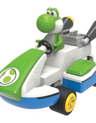 x_knex38725_d Super Mario - Mario Kart 8 K'NEX Building Set Yoshi 20 cm