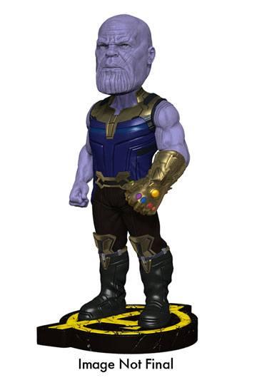 x_neca61787 Marvel Comics - Avengers Infinity War Head Knocker Bobble-Head Thanos 20 cm