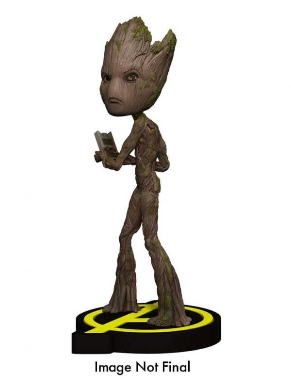 x_neca61788Marvel Comics - Avengers Infinity War Head Knocker Bobble-Head Groot 20 cm