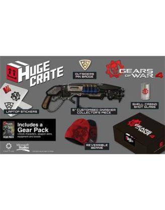 d_mer-1072 - 15 cm Mini Replica - Beanie - Shot Glass - Outsiders Pin Badge - Laptop Stickers - DLC Gear Pack