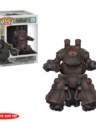 x_fk33995 Fallout Super Sized POP! Games Vinyl Figure Sentry Bot 15 cm