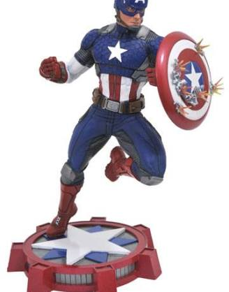d_diamaug172640 Marvel NOW! Marvel Gallery PVC Szobor - Captain America 23 cm