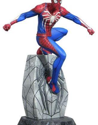 d_diamjan192552 Spider-Man 2018 Marvel Video Game Gallery PVC Szobor - Spider-Man 25 cm