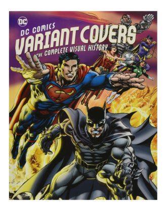 x_isc87832 DC Comics Art Book Variant Covers