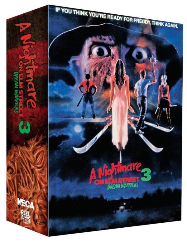 x_neca39889 Nightmare on Elm Street 3 akciófigura - Ultimate Freddy 18 cm
