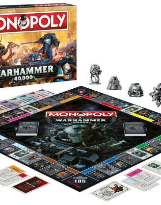x_wimo45342 Warhammer 40K Monopoly (német nyelvű változat)