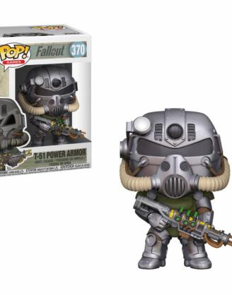 x_fk33973 Fallout Funko POP! figura - T-51 Power Armor 9 cm