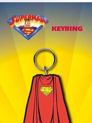 x_gye-kr0049 DC Comics kulcstartó – Superman Cape 7 cm
