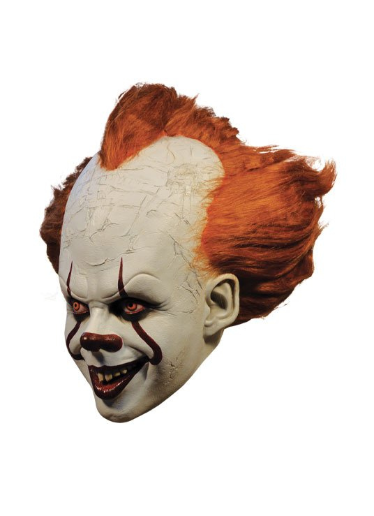 x_tot-mbwb100 Stephen King's It 2017 - Pennywise Latex Maszk Deluxe Edition