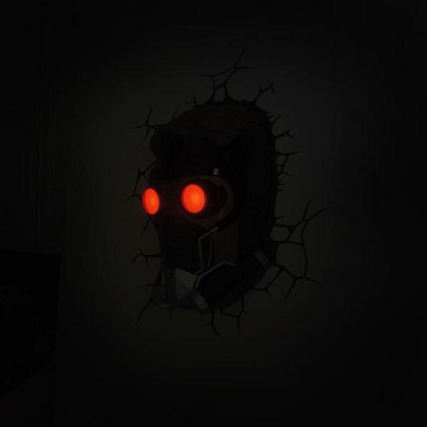 x_3dlgotgsl Marvel Comics 3D LED világítás - Star Lord