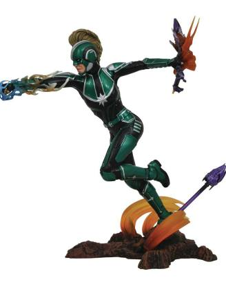 x_diamapr192535 Marvel Gallery PVC Szobor - Captain Marvel 23 cm