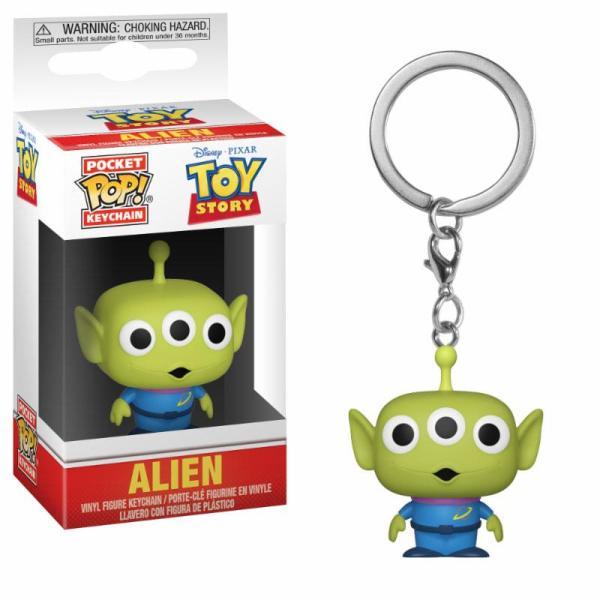 x_fk37055 Toy Story Pocket POP! kulcstartó - Alien 4 cm