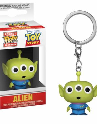 x_fk37055 Toy Story Pocket POP! kulcstartó - Alien 4 cm