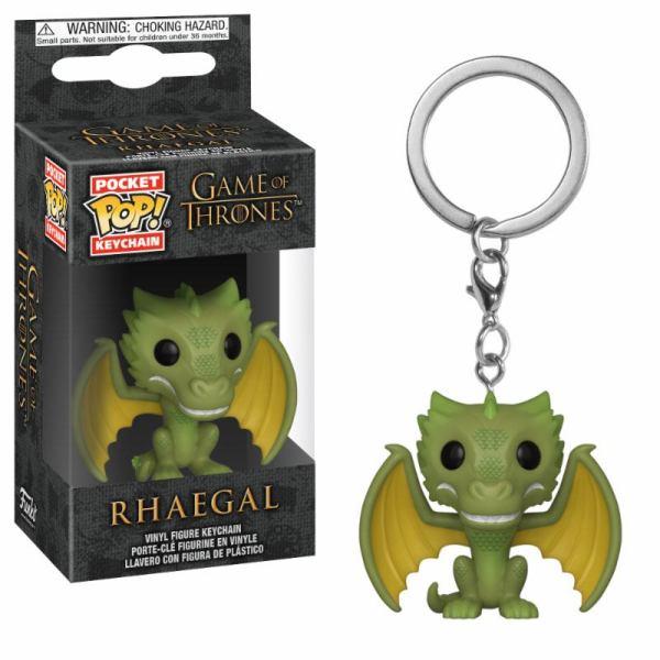 x_fk37665 Game of Thrones Pocket POP! Vinyl Keychain Rhaegal 4 cm