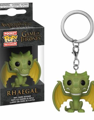 x_fk37665 Game of Thrones Pocket POP! Vinyl Keychain Rhaegal 4 cm