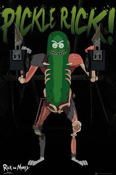 x_gye-rckndmrt_3 Rick and Morty - Pickle Rick poszter