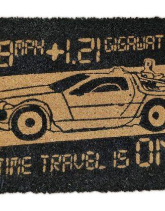 x_sdtuni22204 Back to the Future lábtörlő - Time Machine 43 x 72 cm
