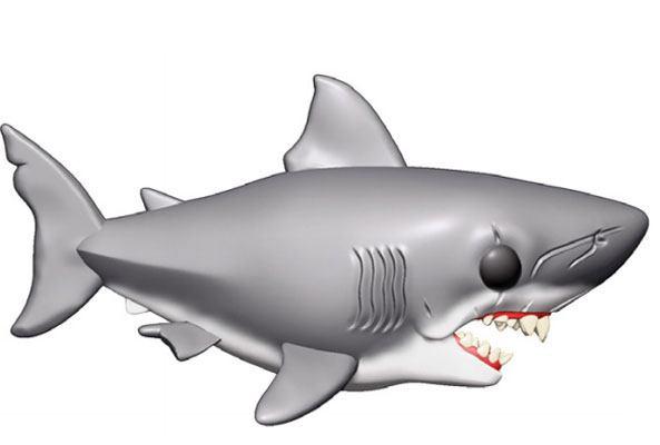 x_fk38565 Jaws Oversized Funko POP! figura - Jaws 15 cm