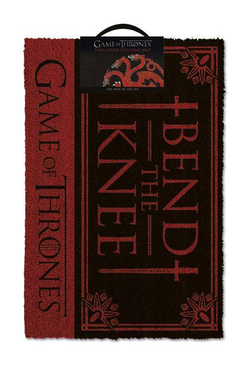 x_gp85197 Game of Thrones lábtörlő - Bend the Knee 40 x 57 cm