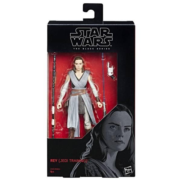 x_hasb3834eu07_c Star Wars Black Series Akciófigura - Rey (Jedi Training) (Episode VIII) 15 cm