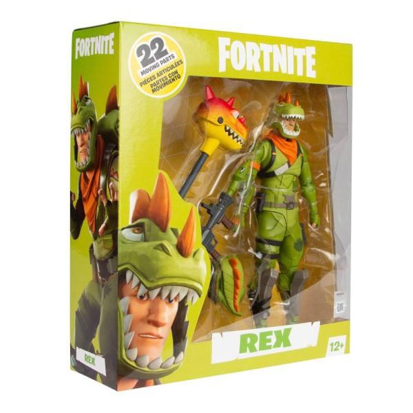 x_mcf10605-3 Fortnite Games Akciófigura - Rex 18 cm