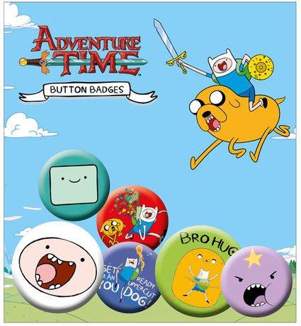 x_gye-bp0455 Adventure Time - Finn kitűzők