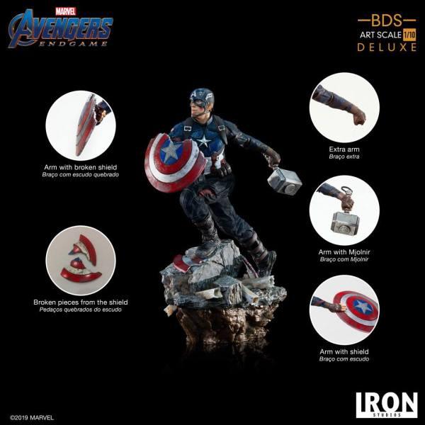 x_is89962 1/10 Captain America 21 cm