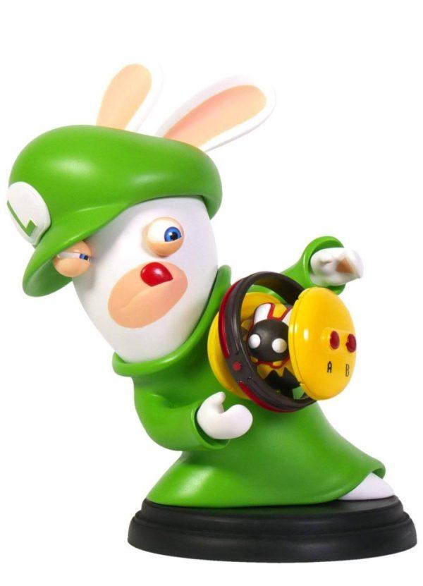 x_ubi300093020 Mario + Rabbids Kingdom Battle PVC Figura - Rabbid-Luigi 16 cm