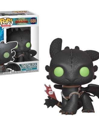 x_fk36355 How to Train Your Dragon 3 Funko POP! Figura - Toothless 9 cm
