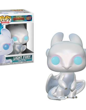 x_fk36369 How to Train Your Dragon 3 Funko POP! Figura - Light Fury 9 cm