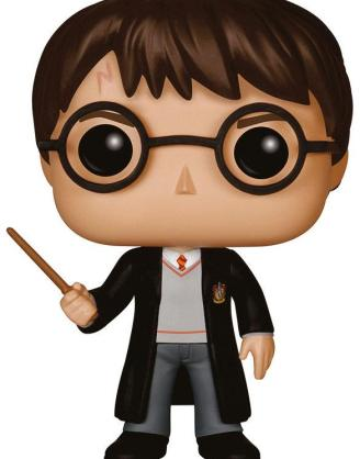 x_fk5858 Harry Potter Funko POP! Figura - Harry Potter 10 cm Harry Potter POP! Movies Vinyl Figure Harry Potter 10 cm