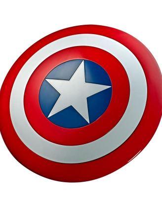 x_hase8667 Marvel Legends - Premium Role-Play Shield Captain America´s Shield 80th Anniversary 60 cm