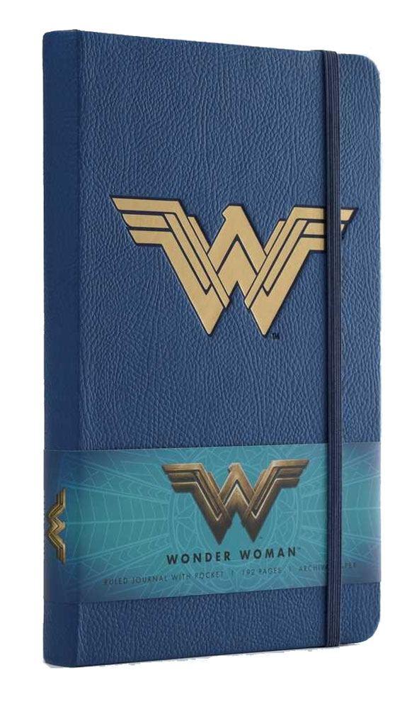 x_isc83264 Wonder Woman A5 Jegyzetfüzet - Ruled Journal Logo
