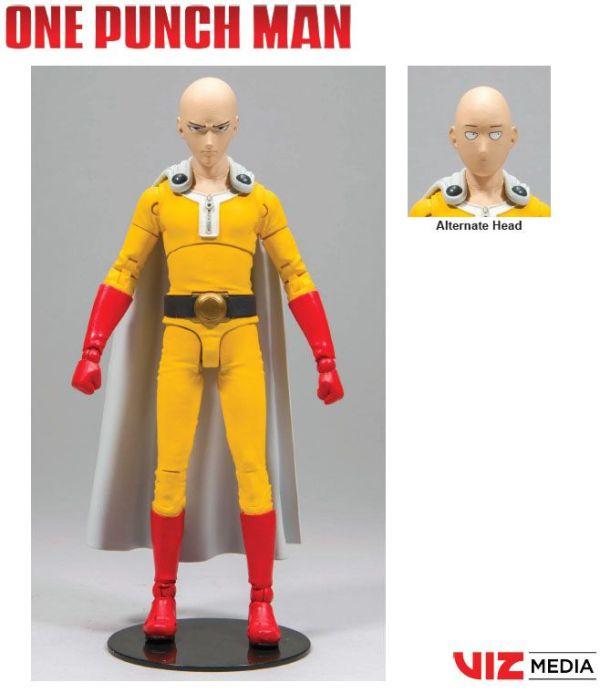 x_mcf10281-9 One Punch Man Akciófigura - Saitama 18 cm One Punch Man Action Figure Saitama 18 cm