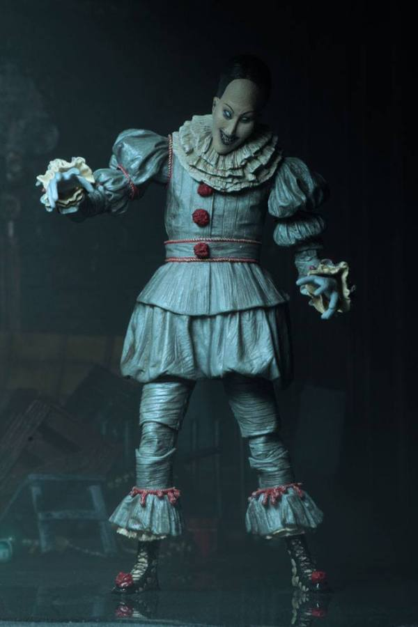 x_neca45470 Ultimate Pennywise (Dancing Clown) akciófigura 18 cm Stephen King's It 2017 Action Figure Ultimate Pennywise (Dancing Clown) 18 cm