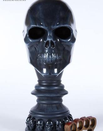 x_tri-bao-01 Batman Arkham Origins Replica 1/1 Black Mask Arsenal 46 cm